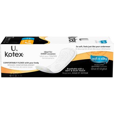 U by Kotex® Lightdays® Regular Daily Liners 22 ct Box