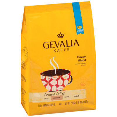 Gevalia House Blend Ground Coffee 20 oz. Bag