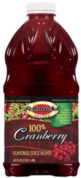 Schnucks 100% Cranberry Juice Blend 64 Fl Oz Plastic Bottle