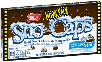 SNO-CAPS  3.1 oz. Box