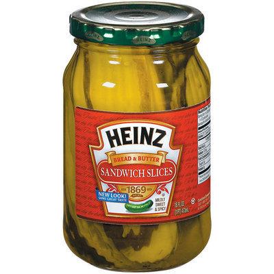 Heinz® Bread & Butter Sandwich Slices Pickles
