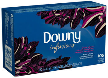 Downy® Ultra Infusions Orchid Allure Fabric Softener Sheets 105 ct Box