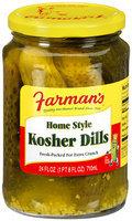 Farman's® Home Style Kosher Dills 24 fl. oz.