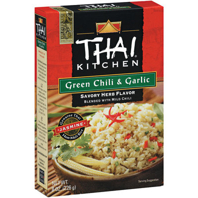 Thai Kitchen TK Green Chili & Garlic Jasmine Rice Jasmine Rices 8 Oz Box