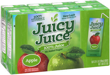 Juicy Juice® 100% Apple Juice 8-6.75 fl. oz. Boxes