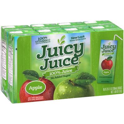 Juicy Juice® 100% Apple Juice 8-6.75 fl. oz. Boxes