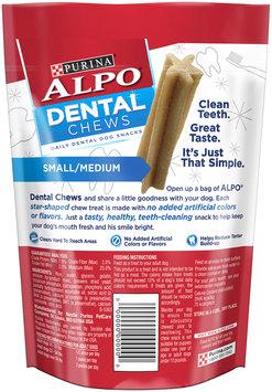 Purina Alpo Dental Chews Small/Medium Dog Snacks 4.3 oz. Pouch