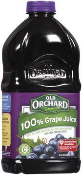 Old Orchard 100% Juice  Grape 64 Fl Oz Plastic Bottle