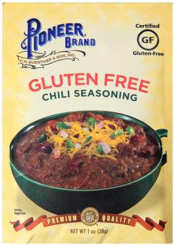 Pioneer Brand® Gluten Free Chili Seasoning 1 oz. Packet