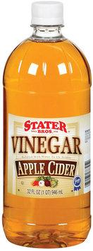 Stater Bros. Apple Cider Vinegar 32 Fl Oz Plastic Bottle