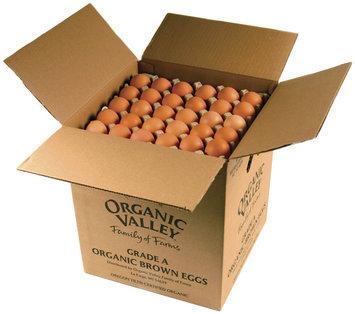 Organic Valley® Food Service Shell Egg Flats Eggs Box