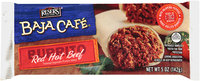 Baja Cafe® Red Hot Beef Burrito 5 oz.