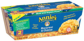 Annie's®  Homegrown Classic Mild Cheddar Macaroni & Cheese