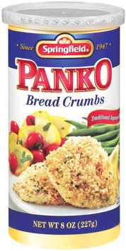 Springfield® Panko Bread Crums Traditional Japanese-Style 8 oz Canister