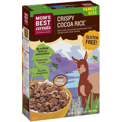 Mom's Best® Crispy Cocoa Rice® Cereal 17.5 oz. Bags