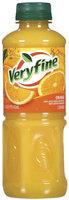 Veryfine Orange 100% Juice 16 Oz Plastic Bottle