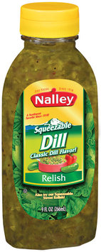 Nalley Dill Squeezable Relish 9 Oz Squeeze Bottle