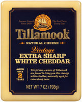 Tillamook® Vintage Extra Sharp White Cheddar Natural Cheese 7 oz. Pack