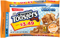 Malt-O-Meal® Cinnamon Toasters® Cereal 17 oz. ZIP PAK