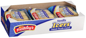 Mrs. Freshley's® Icers™ Vanilla Box