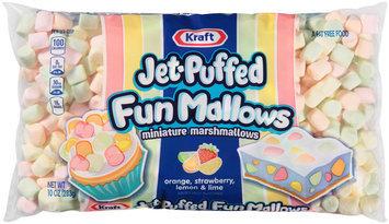 Kraft Jet-Puffed FunMallows Miniature Marshmallows 10 oz. Bag