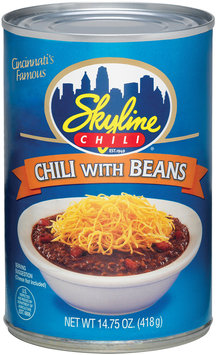 Skyline Chili W/Beans  Chili  14.75 Oz Can