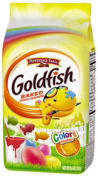 Goldfish® Colors Cheddar Baked Snack Crackers 6.6 oz. Box