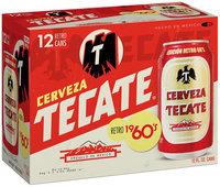 Tecate 60's Retro Beer