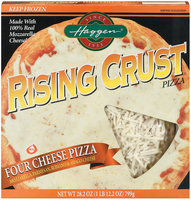 Haggen Rising Crust Four Cheese Pizza 28.2 Oz Box