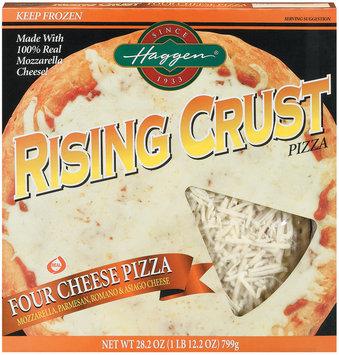 Haggen Rising Crust Four Cheese Pizza 28.2 Oz Box