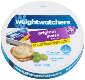 Weight Watchers Original Swiss Flavored Cheese 6 ct Wedges