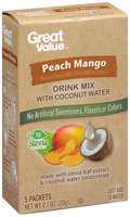 Great Value™ Peach Mango Drink Mix 0.7 oz. Box