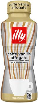 illy Caffe Vanilla Affogato Espresso Drink with Milk 11.5 fl. oz. Bottle