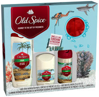 Old Spice Fresh Collection Fiji Holiday Bath Gift Box 4 Piece