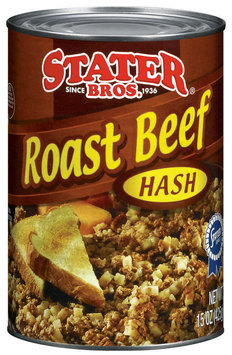 Stater Bros. Roast Beef Hash 15 Oz Can