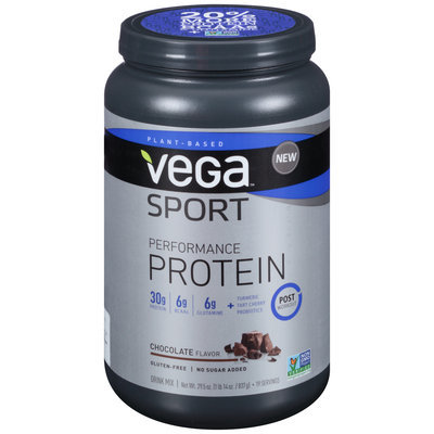 Vega™ Sport Performance Protein Chocolate Flavor Drink Mix 29.5 oz. Canister