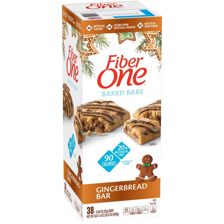 Fiber One Gingerbread Baked Bars Reviews 2019