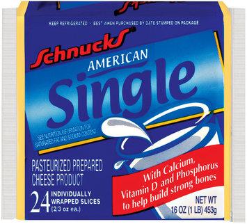 Schnucks American Single Cheese 16 Oz Wrapper