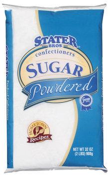 Stater Bros. Powdered Confectioners Sugar 32 Oz Bag