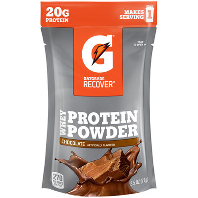 Gatorade Recover® Chocolate Whey Protein Powder