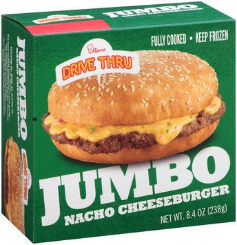 Pierre™ Drive Thru® Jumbo Nacho Cheeseburger 8.4 oz. Box