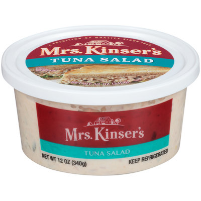 Mrs. Kinser's Tuna Salad 12 oz. Tub