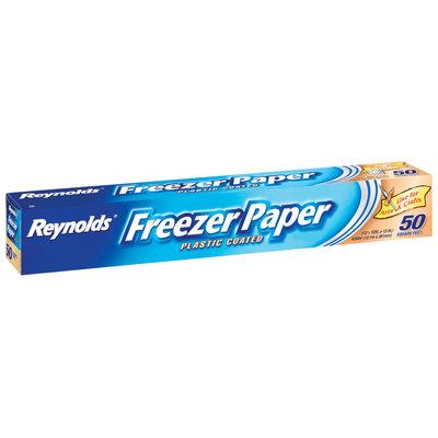 REYNOLDS FREEZER PAPER Plastic Coated Freezer Paper 50 SF BOX