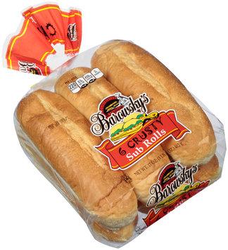 Barowsky's® Crusty Sub Rolls 6 ct Bag