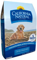 California Natural® Chicken Meal & Rice Formula Adult Dog Food 30 lb. Bag