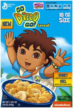 Go Diego Go!™ Honey Cereal 18 oz. Box