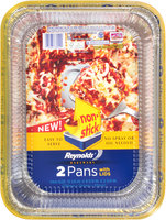 Reynolds® Lasagna Bakeware 2 Pans with Lids