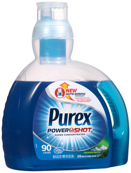 Purex® Power Shot™ Mountain Breeze® Super Concentrated Liquid Laundry Detergent 90 fl. oz. Jug