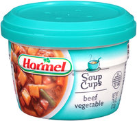 Hormel® Beef Vegetable Soup 7.5 oz. Microwave Cup
