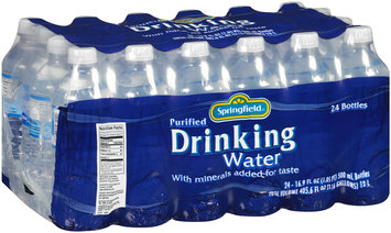 Springfield® Purified Drinking Water